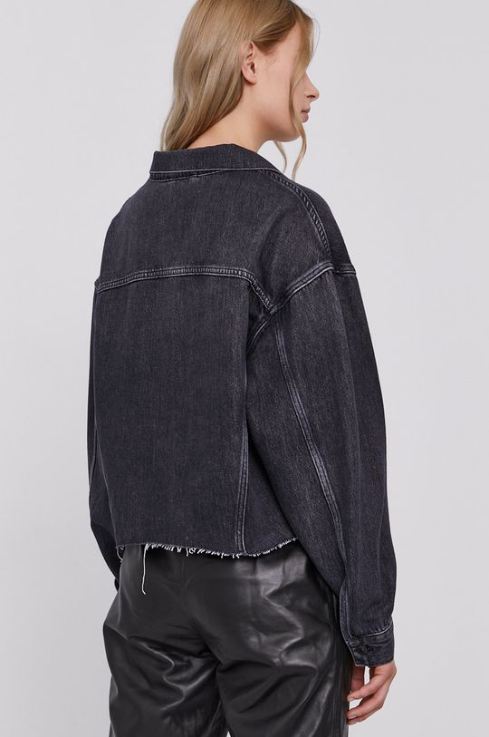 AllSaints - Džínová bunda  60% Bavlna, 40% Lyocell
