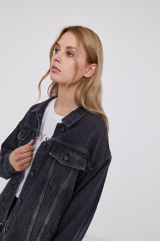 černá AllSaints - Džínová bunda