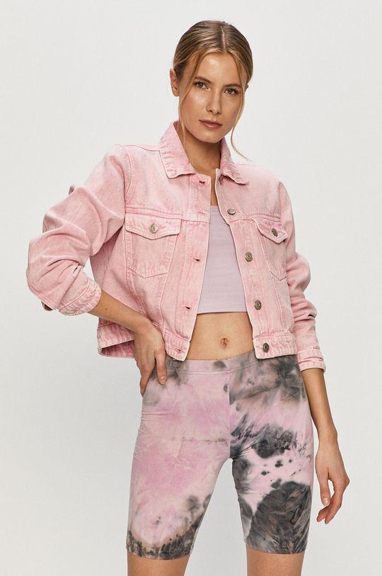 růžová Brave Soul - Džínová bunda Dámský