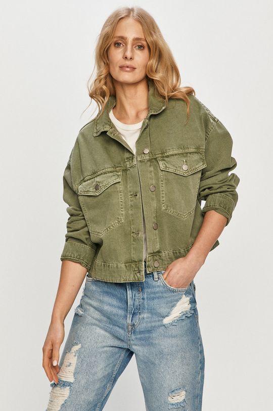Dr. Denim - Kurtka jeansowa brudny zielony