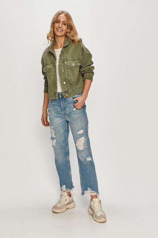 brudny zielony Dr. Denim - Kurtka jeansowa