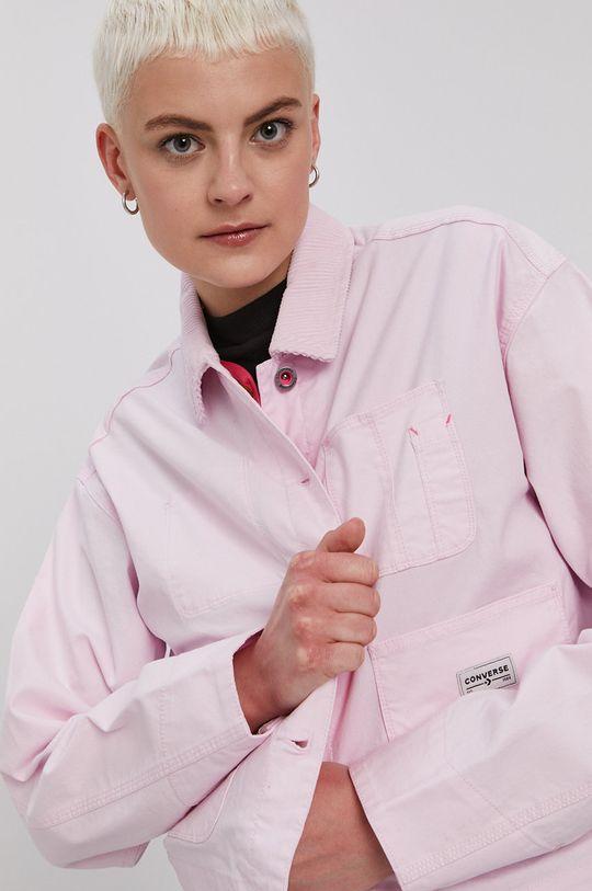 różowy Converse - Kurtka Damski