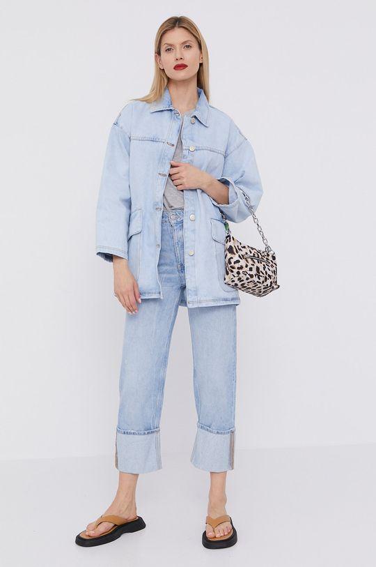 BIMBA Y LOLA - Kurtka jeansowa jasny niebieski