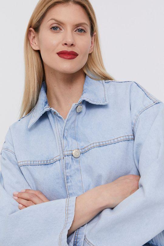 jasny niebieski BIMBA Y LOLA - Kurtka jeansowa