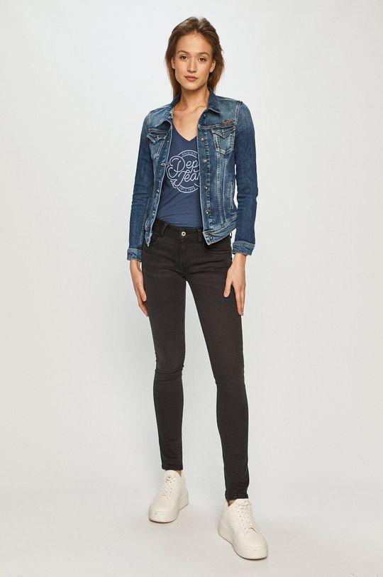 Pepe Jeans - Džínová bunda L51 modrá