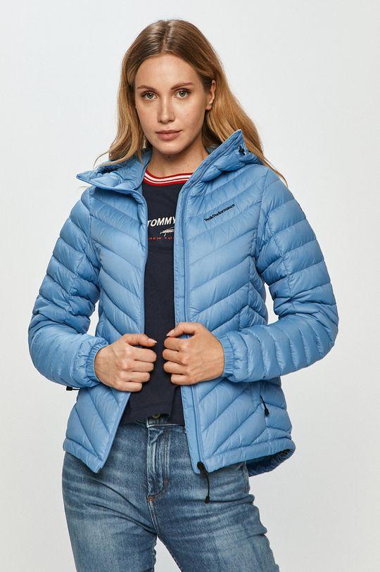 světle modrá Peak Performance - Péřová bunda Dámský