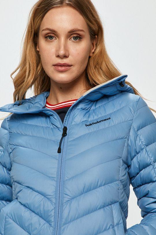 světle modrá Peak Performance - Péřová bunda