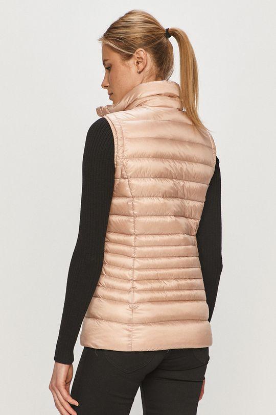 Rossignol - Péřová vesta pastelově růžová