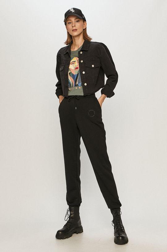 Tally Weijl - Kurtka jeansowa czarny