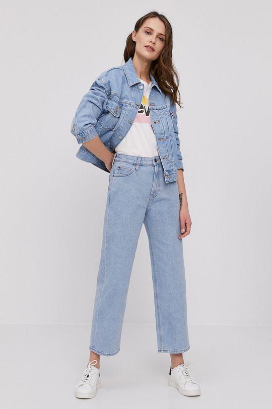 Levi's - Kurtka jeansowa niebieski