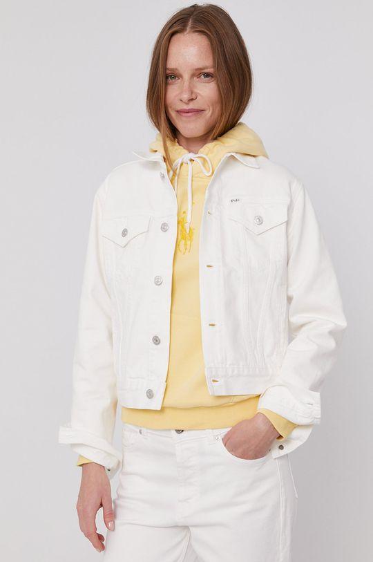 biały Polo Ralph Lauren - Kurtka jeansowa Damski