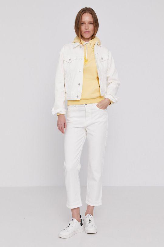 Polo Ralph Lauren - Kurtka jeansowa biały