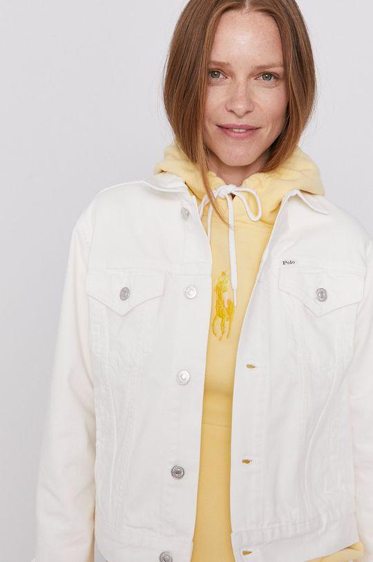 biały Polo Ralph Lauren - Kurtka jeansowa