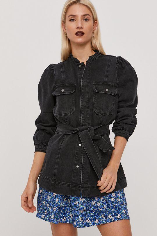 černá Vero Moda - Džínová bunda Dámský