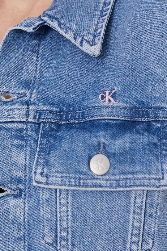 Calvin Klein Jeans - Bezrękawnik jeansowy Damski