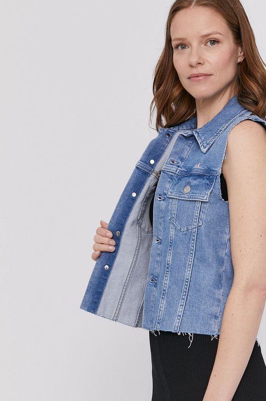 Calvin Klein Jeans - Bezrękawnik jeansowy