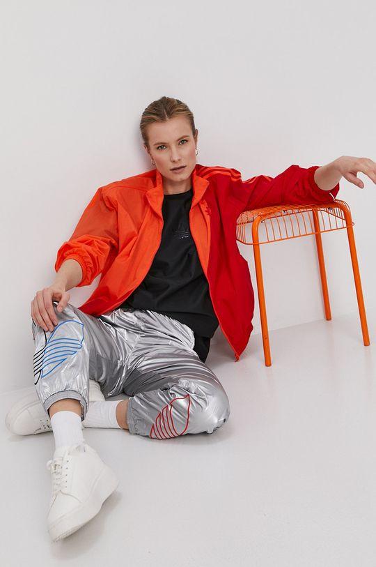 mandarynkowy adidas Originals - Kurtka