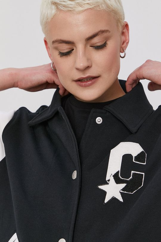 czarny Converse - Bluza bawełniana