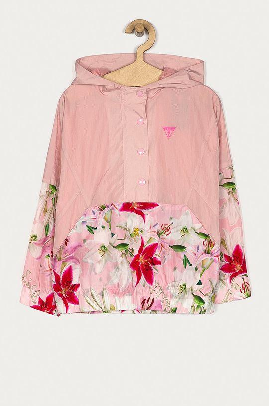 růžová Guess - Dětská bunda 116-175 cm Dívčí