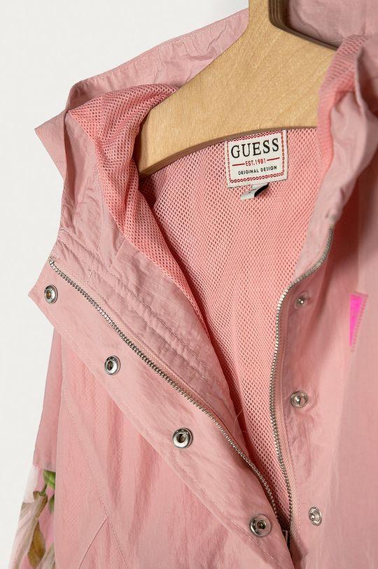 růžová Guess - Dětská bunda 116-175 cm