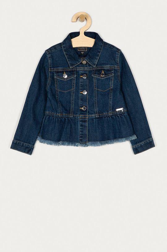 granatowy Guess - Kurtka jeansowa dziecięca 98-122 cm Dziewczęcy