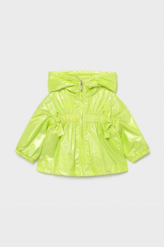 blady zielony Mayoral - Kurtka dziecięca Dziewczęcy