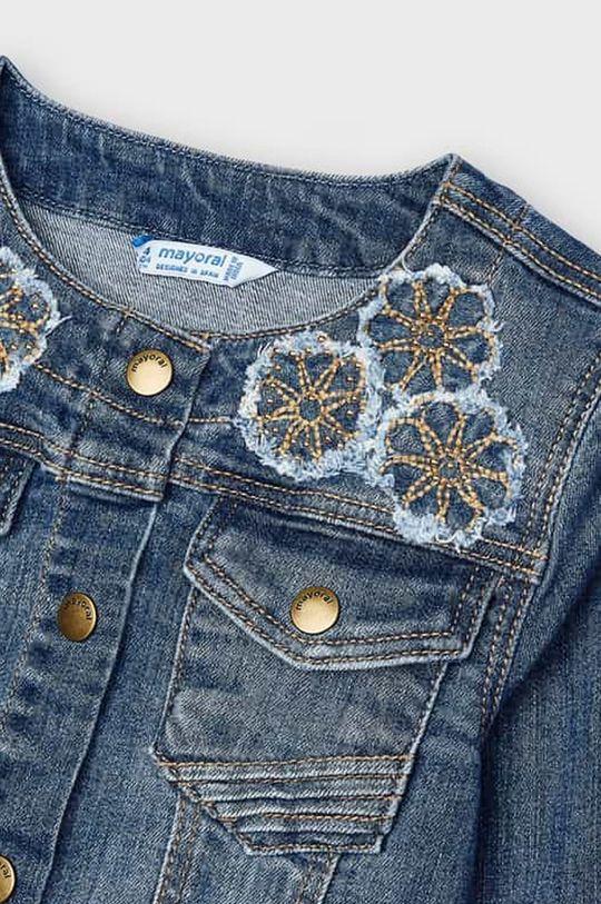 Mayoral - Kurtka jeansowa dziecięca Dziewczęcy