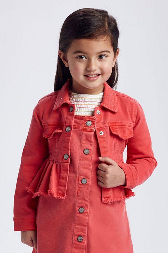 sýto ružová Mayoral - Detská bunda Dievčenský