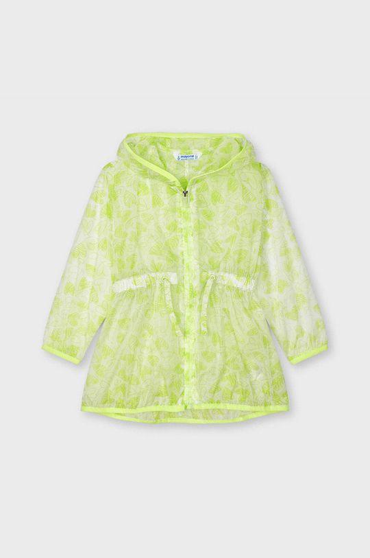 žlutě zelená Mayoral - Dětská bunda Dívčí