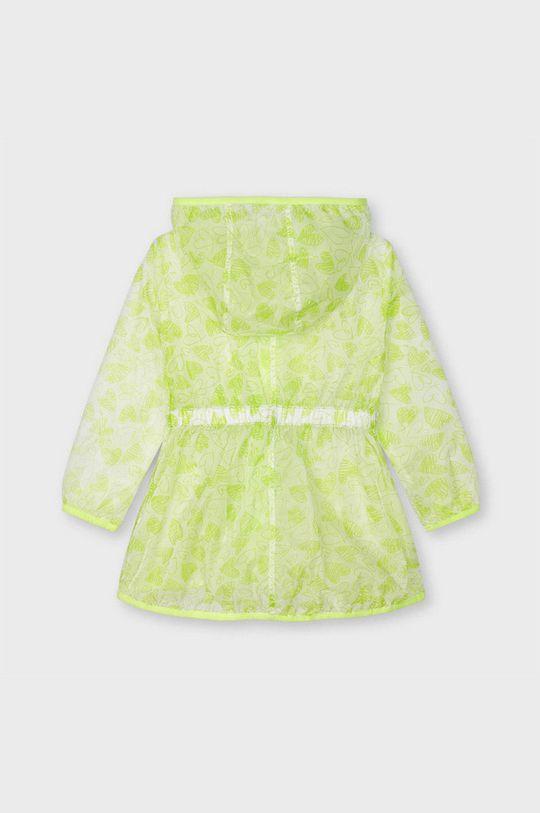 Mayoral - Dětská bunda žlutě zelená