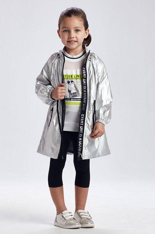 srebrny Mayoral - Parka dziecięca 92-134 cm Dziewczęcy