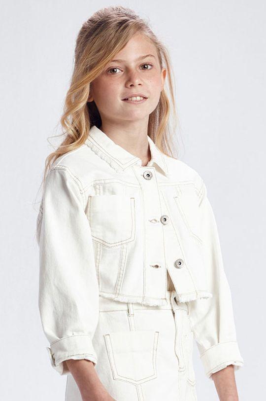 krémová Mayoral - Detská bunda Dievčenský
