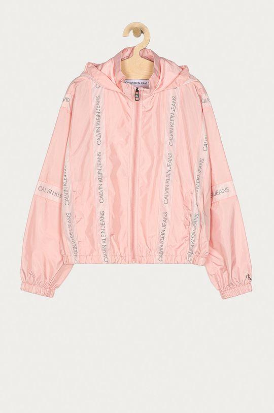 różowy Calvin Klein Jeans - Kurtka dziecięca 140-176 cm Dziewczęcy