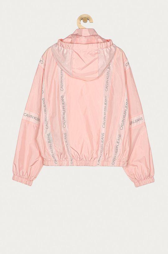 Calvin Klein Jeans - Kurtka dziecięca 140-176 cm różowy