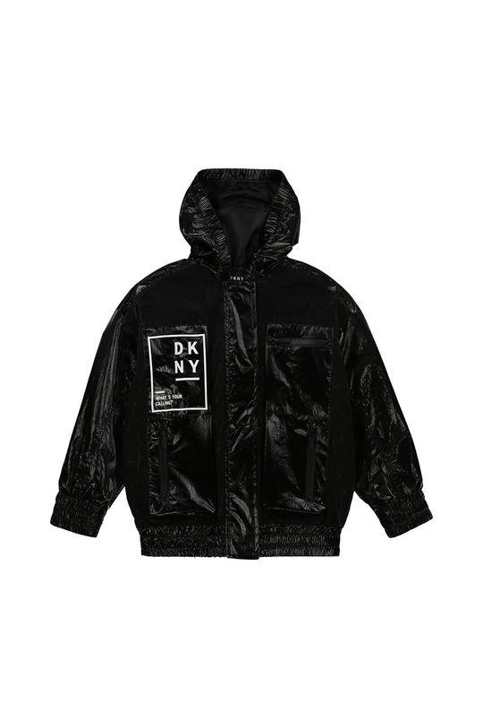 čierna Dkny - Detská bunda Dievčenský
