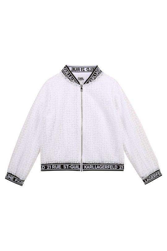 Karl Lagerfeld - Kurtka dziecięca biały