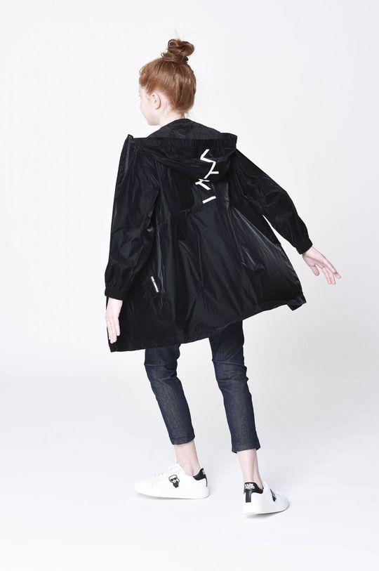 černá Karl Lagerfeld - Dětská bunda Dívčí