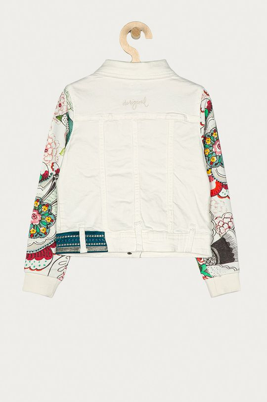 Desigual - Kurtka jeansowa dziecięca 104-164 cm biały