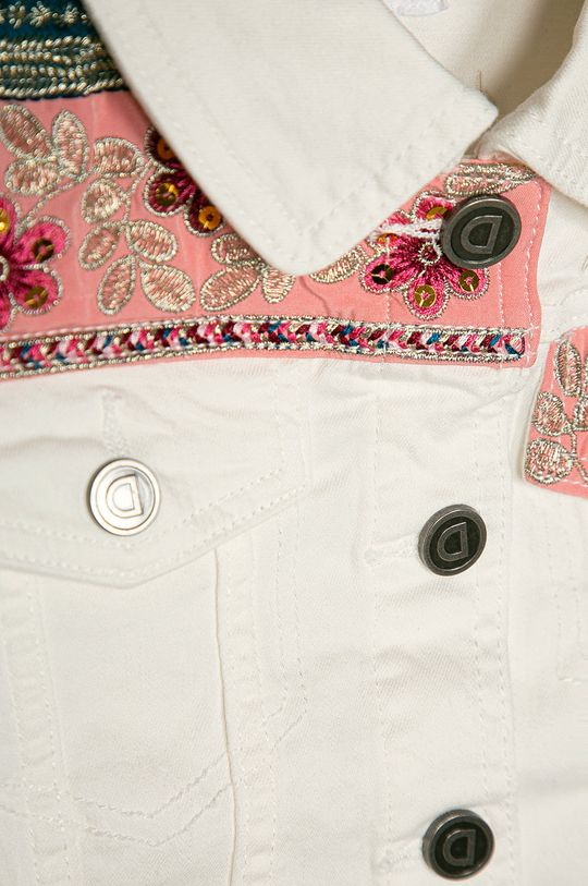 biały Desigual - Kurtka jeansowa dziecięca 104-164 cm