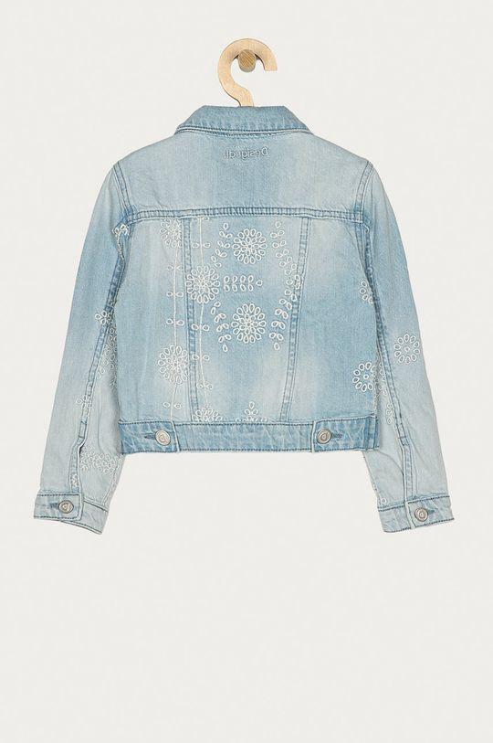 Desigual - Dětská riflová bunda 104-164 cm světle modrá