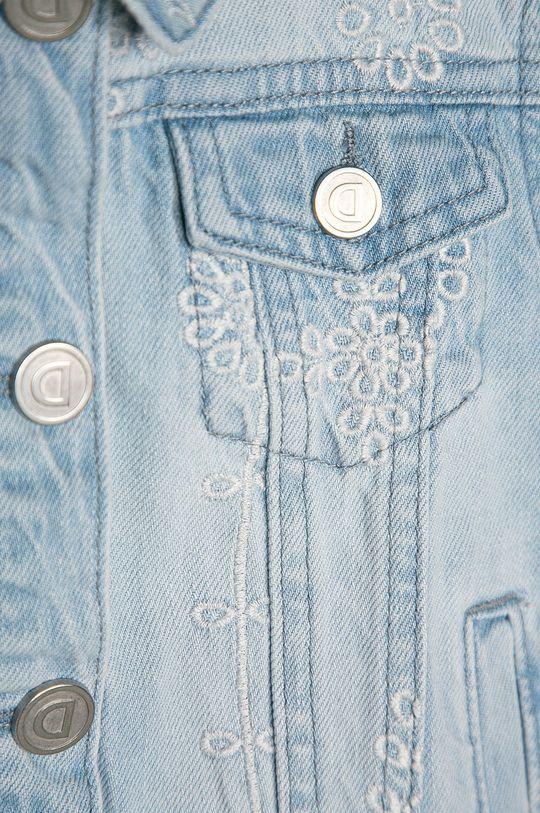 světle modrá Desigual - Dětská riflová bunda 104-164 cm