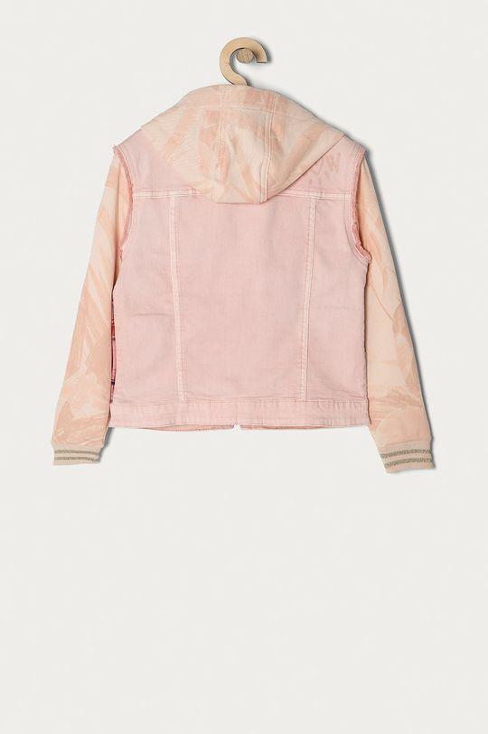 Desigual - Dětská bunda 104-164 cm pastelově růžová