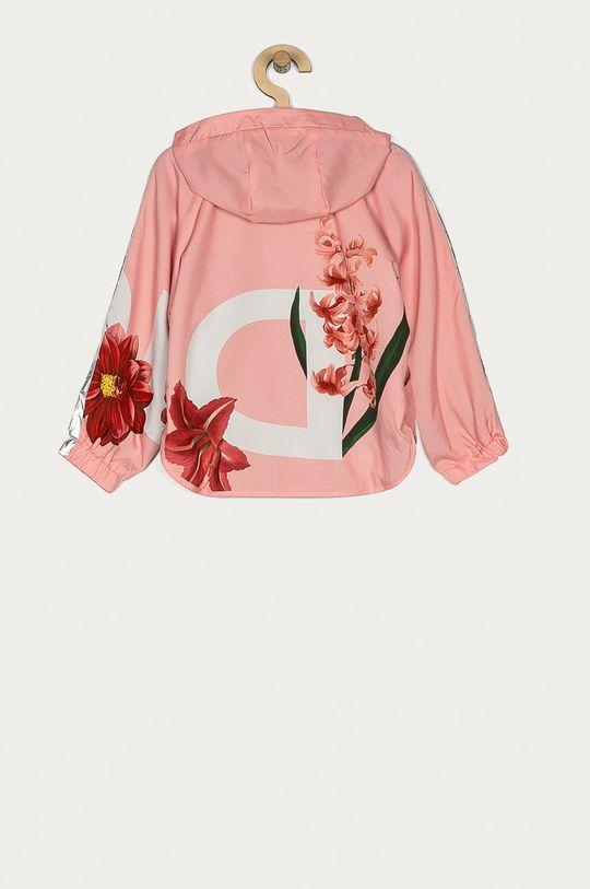 Desigual - Kurtka dziecięca pastelowy różowy