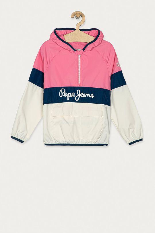 ostrá růžová Pepe Jeans - Dětská bunda Matty 128-180 cm Dívčí