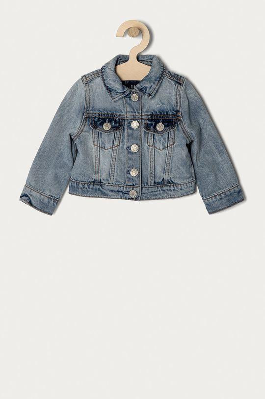 albastru deschis GAP - Geaca de blugi pentru copii 74-110 cm De fete