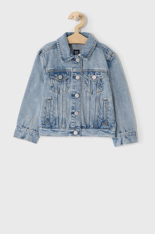jasny niebieski GAP - Kurtka jeansowa dziecięca 104-176 cm Dziewczęcy