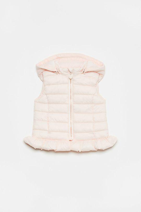 pastelově růžová OVS - Dětská vesta Dívčí