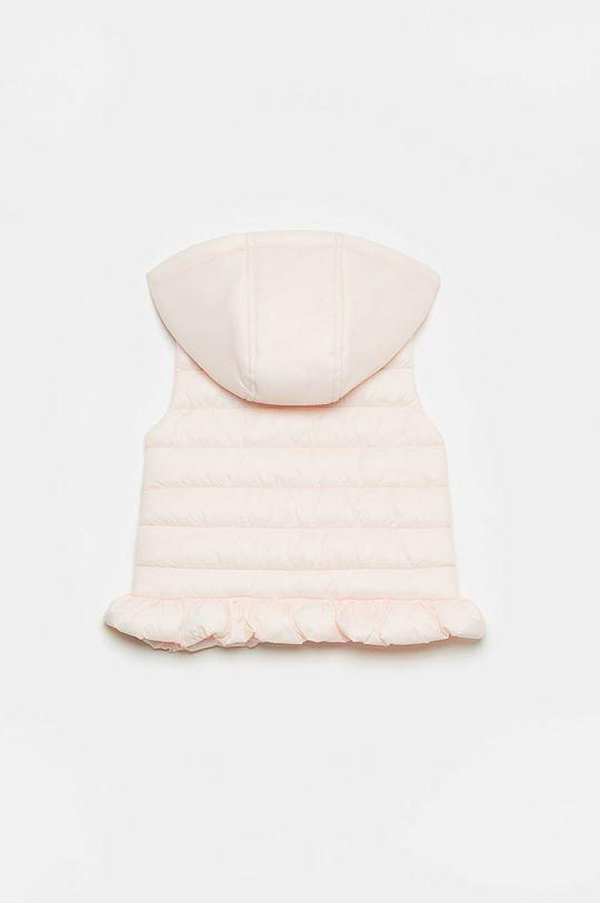OVS - Dětská vesta pastelově růžová