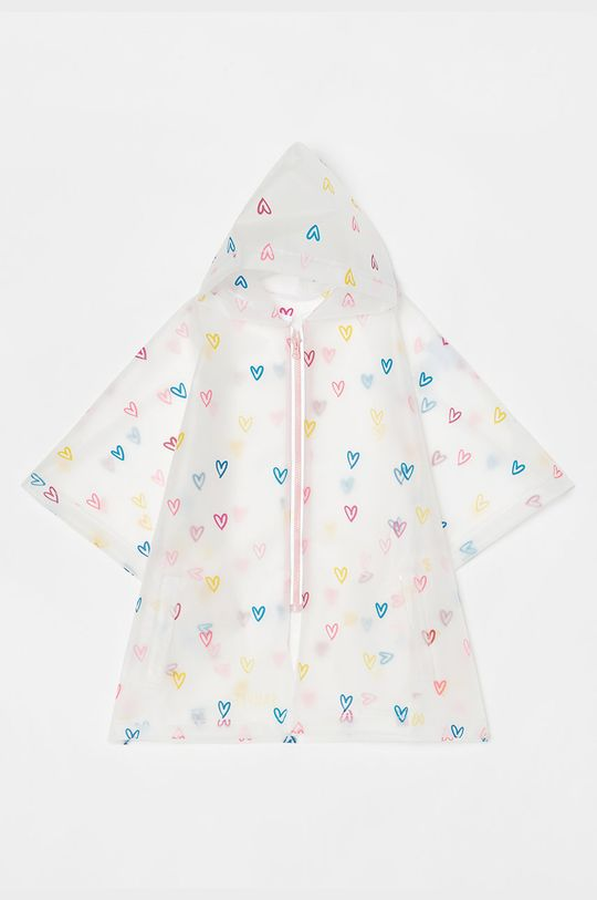 biały OVS - Płaszcz przeciwdeszczowy dziecięcy Dziewczęcy