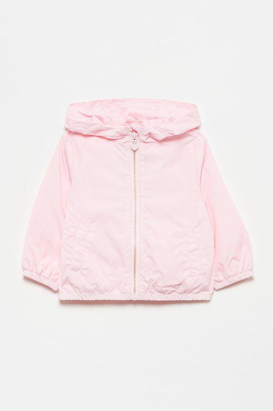 różowy OVS - Kurtka dziecięca Dziewczęcy